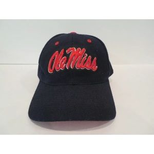 Ole Miss Rebels Authentic Zephyr 7 3/8 Cap Wool
